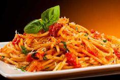 spaghetti basilico e pomodoro