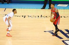 """Why Russell Westbrook staying put is a blessing for the NBA = When Russell Westbrook signed his three-year, $85,591,823 extension with the Oklahoma City Thunder, he not only bucked what is becoming somewhat of a league norm with stars running off to """"super teams"""" to win rings — he also....."""