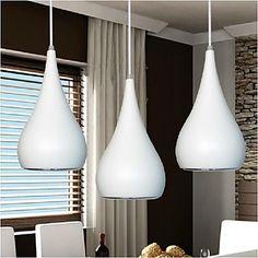 18W Moderne lysekrone LED droplight Gourd Shape spisestue Lights AC85-265V – NOK kr. 341