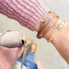 We love a good arm party!