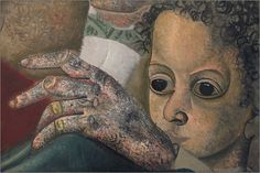 1929~1931 WORLD's FACES (detail) by Boris Grigoriev (1886, Rybinsk, near Moscow, Russia ~ 1939, Cagnes-sur-Mer, France)