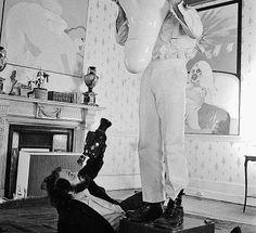 Kubrick filma La naranja mecánica (1971)