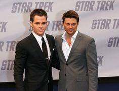 Chris Pine and Karl Urban Photo - 'Star Trek' Premiere In Berlin 2