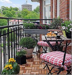 ABC - Amo le Belle Cose: Terrazzo di casa in città.