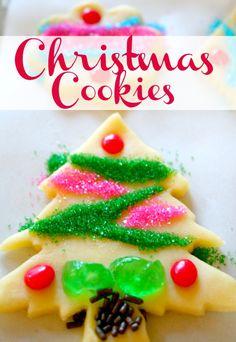 Traditional Christmas Cookies  ~ German Sugar Cookie Recipe
