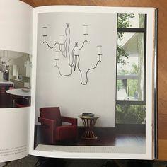 Pair of Royere Sconces installed together via david john- lovely, interior, design