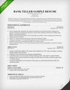 bank teller resume skills http getresumetemplate info 3503 bank