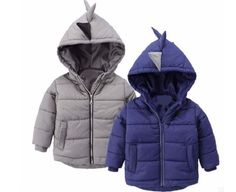 oys Jacket winter coat Children's outerwear winter style baby boys and girls warm cartoon coat clothes for 2-6years