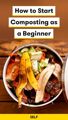 How to Start Composting as a Beginner How to Start Composting as a Beginner,Meals Here, you'll find everything you need to know to start composting for the first time, expert eco-friendly tips that every. How To Start Composting, Compost Soil, Composting At Home, Garden Compost, Composting Toilet, Worm Composting, Garden Yard Ideas, Diy Garden Projects, Garden Tips
