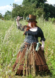 cosplay, plus size, costume, convention, DIY, sewing, steampunk