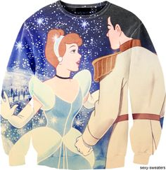 Cinderella Sweat shirt, this seems dorky but with the right cuts i think i could pull it off!