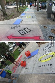 monopoly on the street