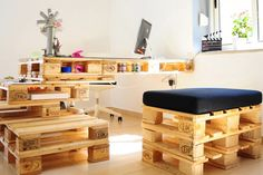 Things to do with pallets - your new office