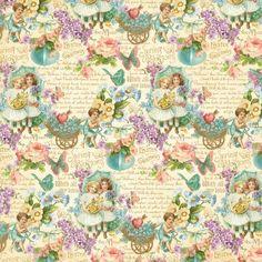 Двусторонняя бумага для скрапбукинга All My Love 30х30 см от Graphic 45 - Бумага для скрапбукинга