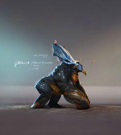 ArtStation - Creature Design - Garanga, Lip Comarella