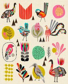 Print by  design duo Kristina Sostarko and Jason Odd