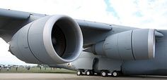 Motores General Electric CF6-80 del C-5M Super Galaxy.