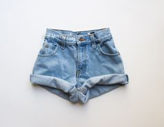 ALL SIZES Vintage Mystery High Waisted Denim Shorts / High Waisted Shorts / All Colors & Styles by MintThreads on Etsy https://www.etsy.com/listing/190406991/all-sizes-vintage-mystery-high-waisted