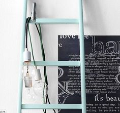 STIJLVOL STYLING - WOONBLOG Interieur, woonideeën, buitenleven, zelf maak ideeën, feest styling tips: Interieur | Trend | De houten ladder