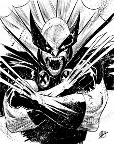 Wolverine King of Vampires by Matteo Scalera