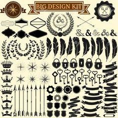 vintage design kit - Google Search