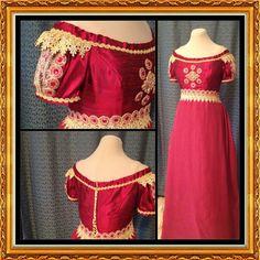 CUSTOM Elegant Princess Bridal Ball Regency Gown by MattiOnline