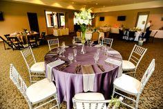 Romantic tablescape at McDowell Mountain Golf Club - Scottsdale, Arizona