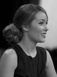 Lauren Conrad bun