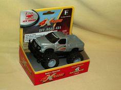 DODGE RAM TRUCK 4 X FOURS 4X4 NEW BRIGHT BATT OP NEW 305 2008 SILVER PICKUP GM #NewBright