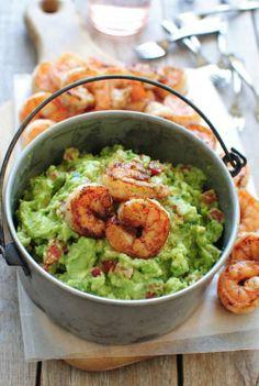 Cajun Shrimp Guacamole [RECIPE]