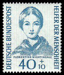 florence nightingale stamp