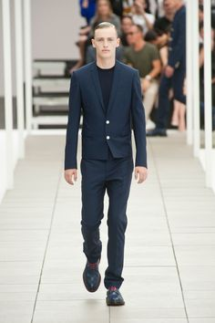 Dior - SS13 - wicked straight cut on jacket