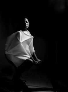 """Runway Circus - I perceive ramp and a style as a performance. Circus with its characters performing various parts and leaving its spectators with feeling of """"WOW"""" & """"HOW"""", i present my ramp """"Runway Circus"""". Garments are peculiar as art of 'ORIGAMI', constructed using uncut piece of square fabrics using only creases and patterns. #origami #fashion #draping"""