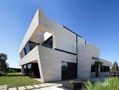 Dallage travertin pour intérieur et extérieur–maison en Espagne ...