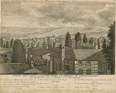1760'da kasımpaşa tersanesini gösterir bir gravür
