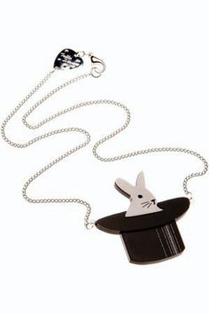 Rabbit in the hat necklace