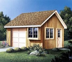Project Plan 85906 Convenience Shed at family home plans