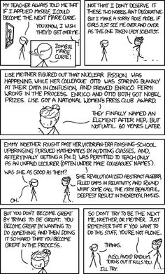 XKCD and women in science