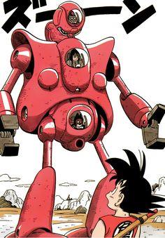 Goku vs Pilaf, Shu, & Mai #dbz
