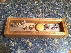 Jewelry Tray ring/trinket made of reclaimed by FaithinGodRanchshop, $12.00