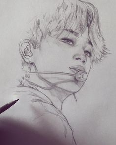 This was a tough one and took me quite a bit longer than usual! Jimin Fanart, Kpop Fanart, Bts Jimin, Kpop Drawings, Bts Chibi, Bts Wallpaper, Drawing Sketches, Art Inspo, Painting & Drawing