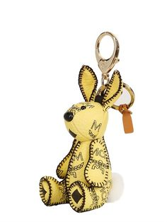 MCM rabbit charm key holder