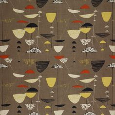 lucienne day textiles, just seen at Fashion and Textile museum, Textile Patterns, Textile Prints, Textile Design, Fabric Design, Pattern Design, Print Patterns, Fun Patterns, Colour Pattern, Pattern Ideas