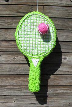 Piñatas~racket & ball Piñata