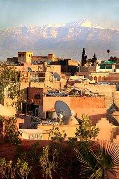 Marrakesh mountains
