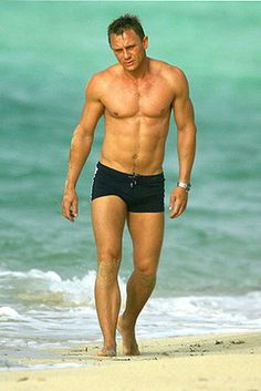 Daniel Craig. He is another member of the Jame Bond collection. Sensitive and Hardcore. LOVE IT.