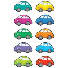 - Cars Accents, Use this decorative artwork to dress up classroom walls and doors, label bins and desks, or accent bulletin boards. Color Activities, Learning Activities, Activities For Kids, Preschool Printables, Preschool Worksheets, Teaching Kids, Kids Learning, Transportation Theme, Teacher Created Resources
