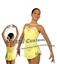 Aliexpress.com : Buy Professional Customized Ice Skating Dresses For Girls  With Spandex Graceful New Brand Ice Skating Competition Dress DR2620 from Reliable dresses girls size 8 suppliers on Crystal Professional Custom Figure Skating Dresses Store
