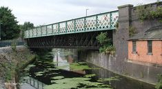 GCR bridge over Old River Soar, Leicester Old Trains, Leicester, Bridges, Planes, Boats, Maine, England, River, City