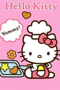 Hello Kitty (Sanrio) Hello Kitty Pictures, Kitty Images, Kittens Cutest, Cute Cats, Hello Kitty Art, Miss Kitty, Hello Kitty Wallpaper, Kawaii, Character Wallpaper